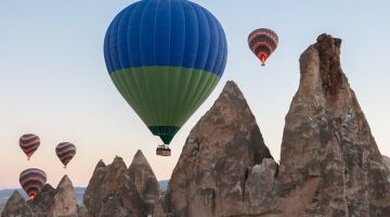 Hot Air balloons in Capadoccia